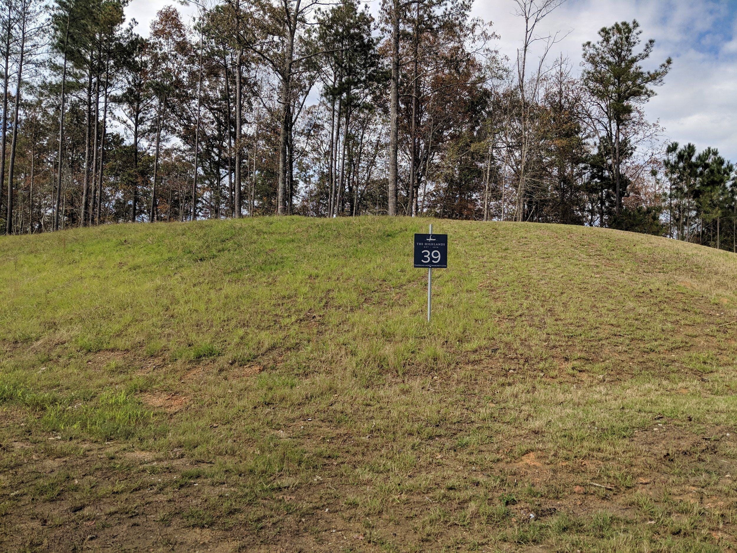Homesite #39   List Price: $105,000  Size: 1.87 acres  Section: Chelsea  Street: Timberview Trail