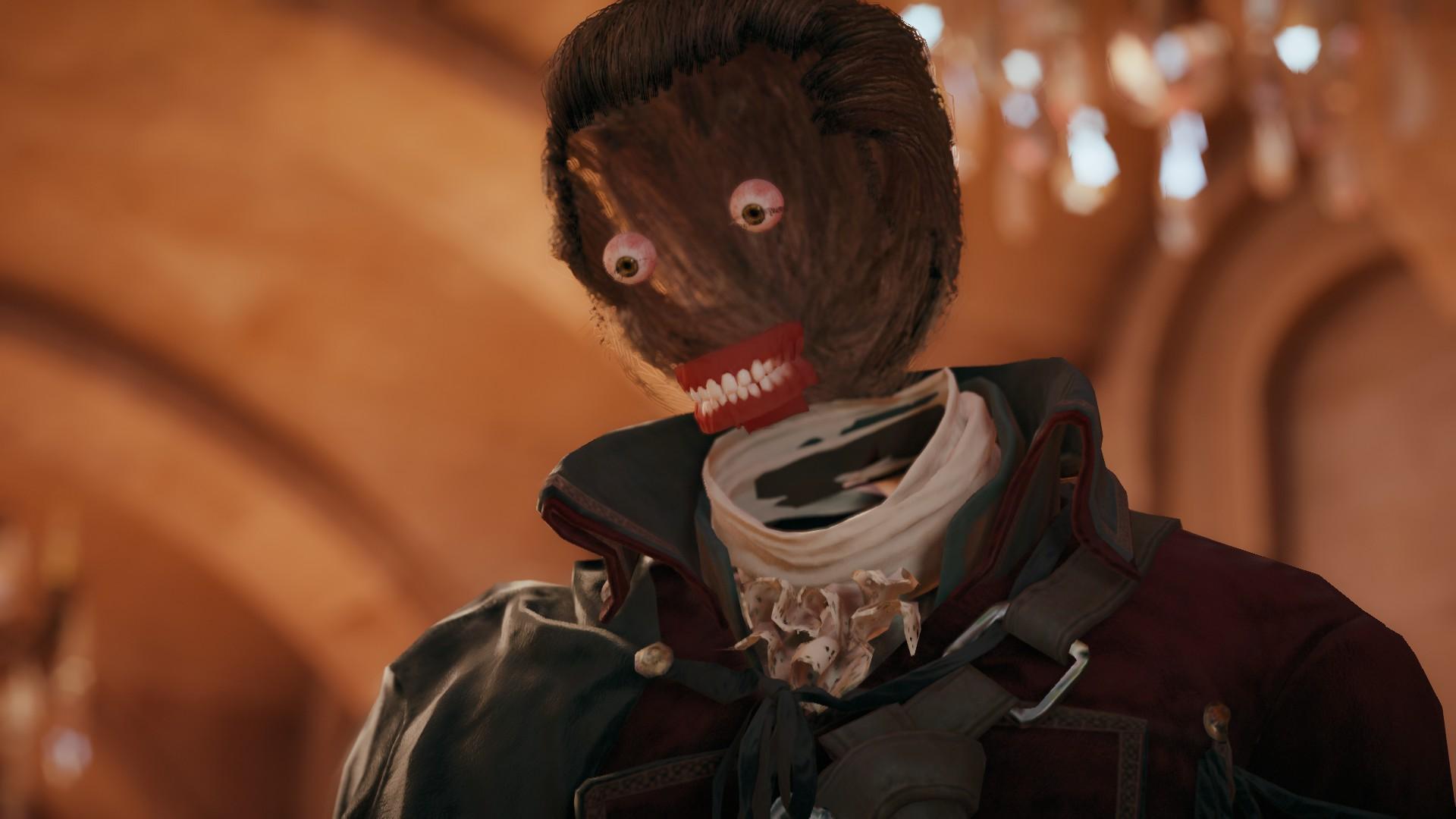 Assassin's Creed Face glitch