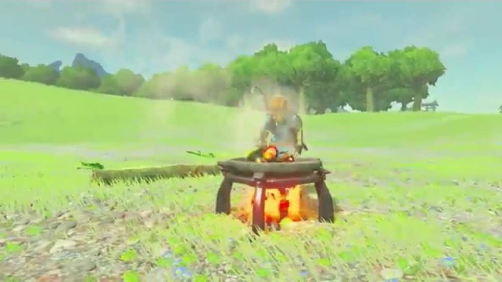 Breath of the Wild FOOD