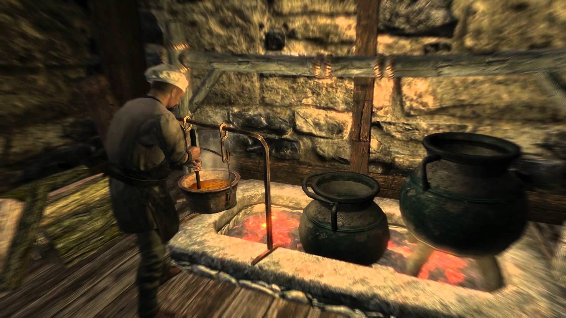 Cooking Skyrim