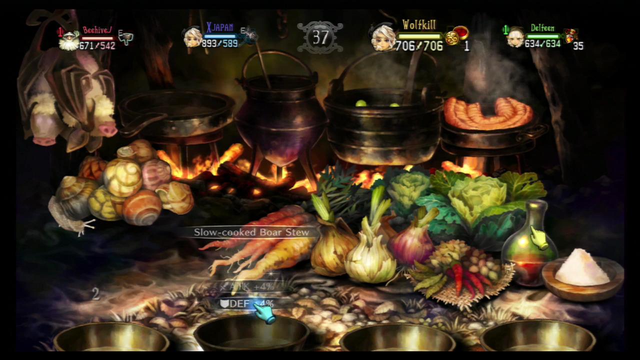 Dragon's Crown FOOD