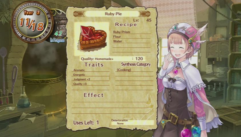 Atelier Rorona Food