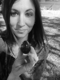 Me and my jade egg.
