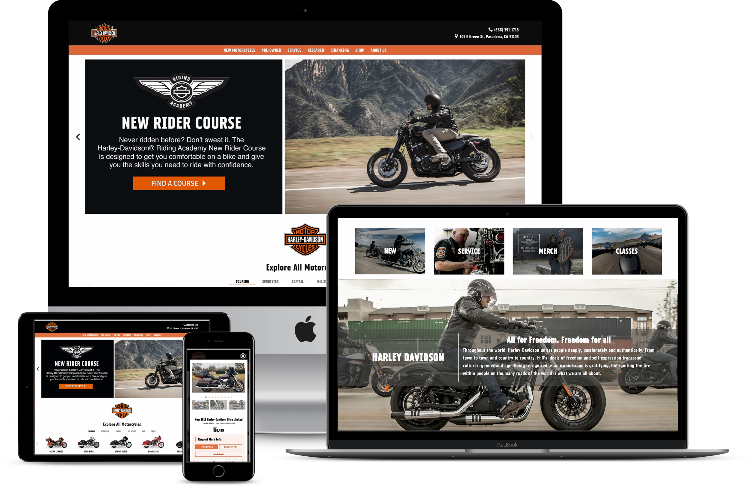 About Fox - Fox Dealer is a personalized digital company where powerful digital technology meets white glove customer service. Fox specializes in custom responsive websites, stunning creative design, and cutting-edge digital marketing.*Some products and services are only available in specific packages. Schedule a demo today to learn more about Fox Dealer's Harley-Davidson packages.