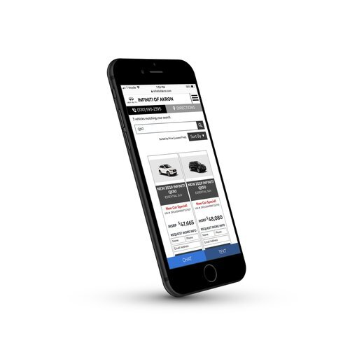 """The NEW I-VDP   We've killed the outdated traditional Vehicle Detail Page and built a revolutionary i-VDP with Quick View Technology. Clicking on the SRP Page shows a """"Quick View"""" of the car MUCH faster than loading a VDP page."""