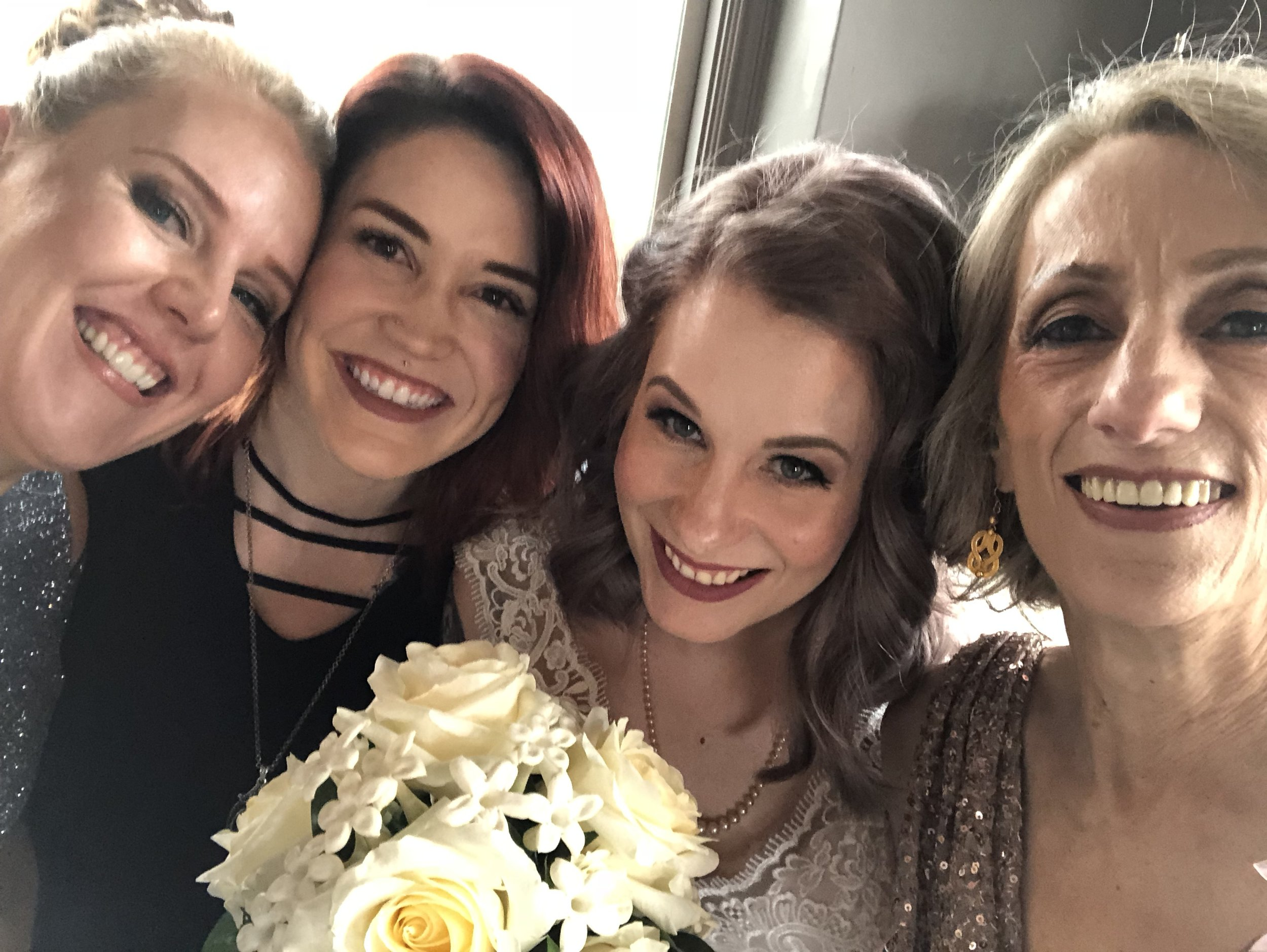 Happy Wedding!  A whole family of salon guests <3