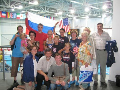 - 2008 Junior World Championships in St. Petersburg, Russia