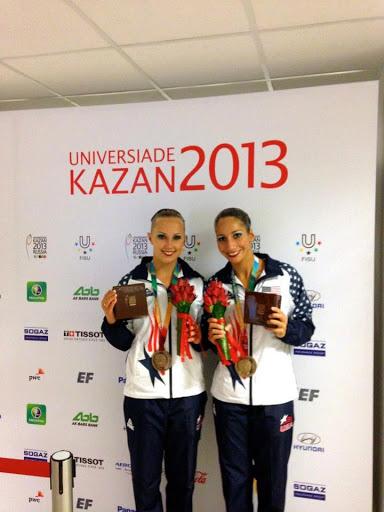 - 2013 World University Games in Kazan, Russia