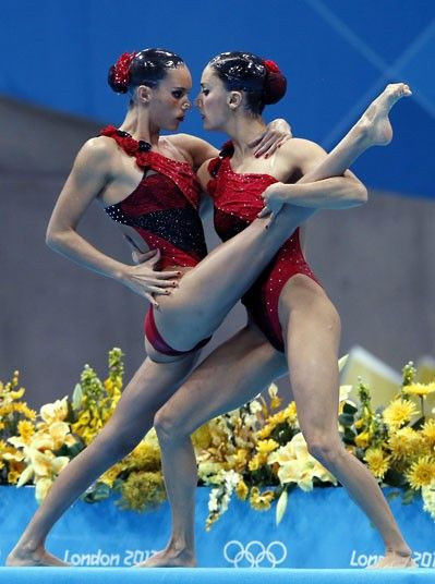- Andrea (right) and Ona Carbonell at the 2012 Olympic Games in London