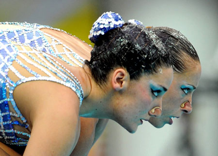 - Andrea (left) and Gemma Mengual at the 2008 Olympic Games in Beijing