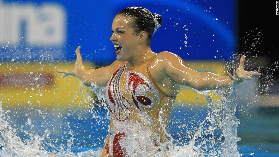 - Mary's solo at the 2015 FINA World Championships