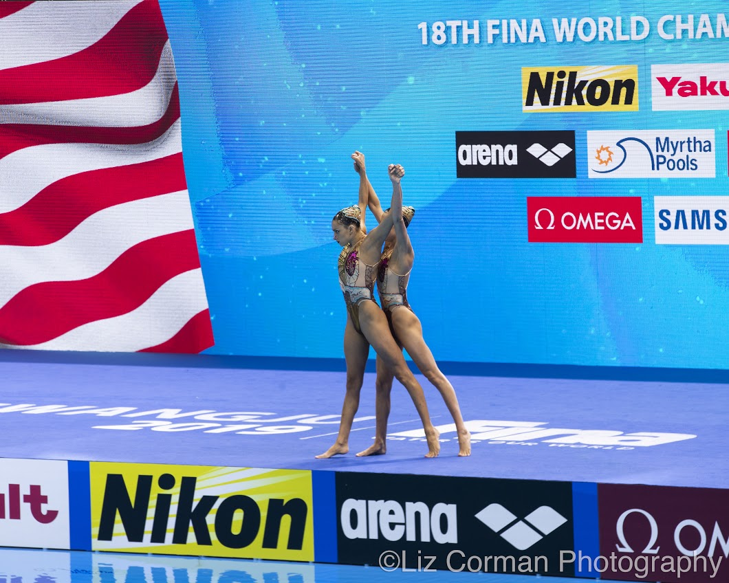 - Anita and Ruby's free duet program at the 2019 World Championships