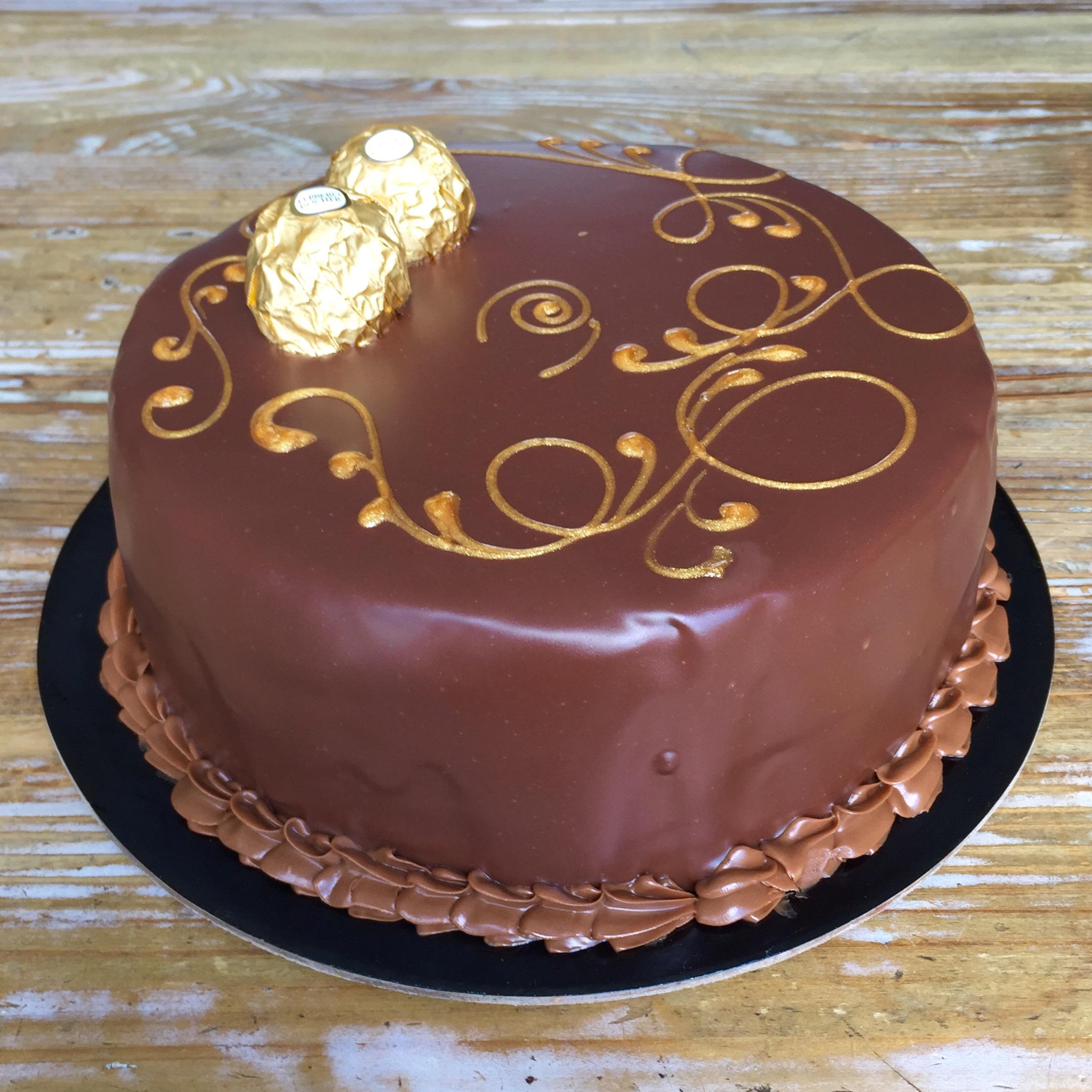 FERRERO ROCHER CAKE -