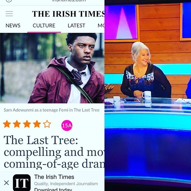 #thelasttreefilm continues to shine  Great to see @sneazyneazy on @loosewomen discussing the film 🙌🏿🔥 in Cinemas now!
