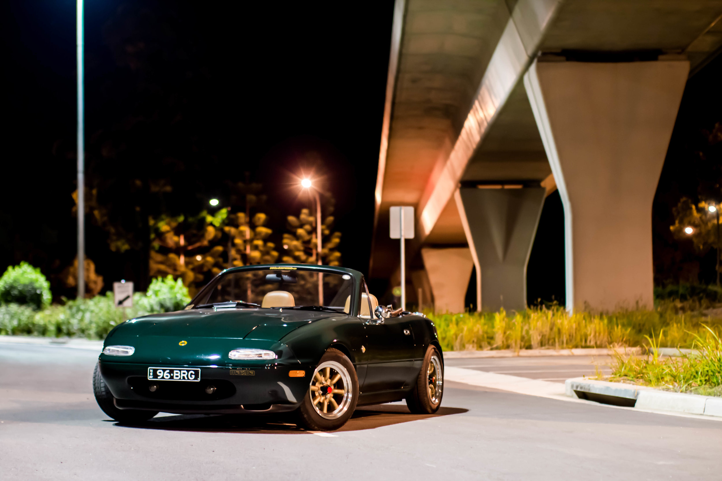 Stephen's MX-5 pointing out of the shot. Although a great shot, there is still improvement to be had. If the car was angled in, it would really amplify this shot.