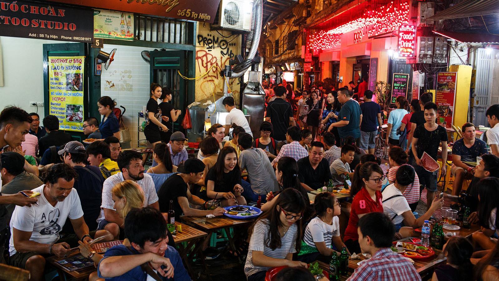 Beer Street, Hanoi