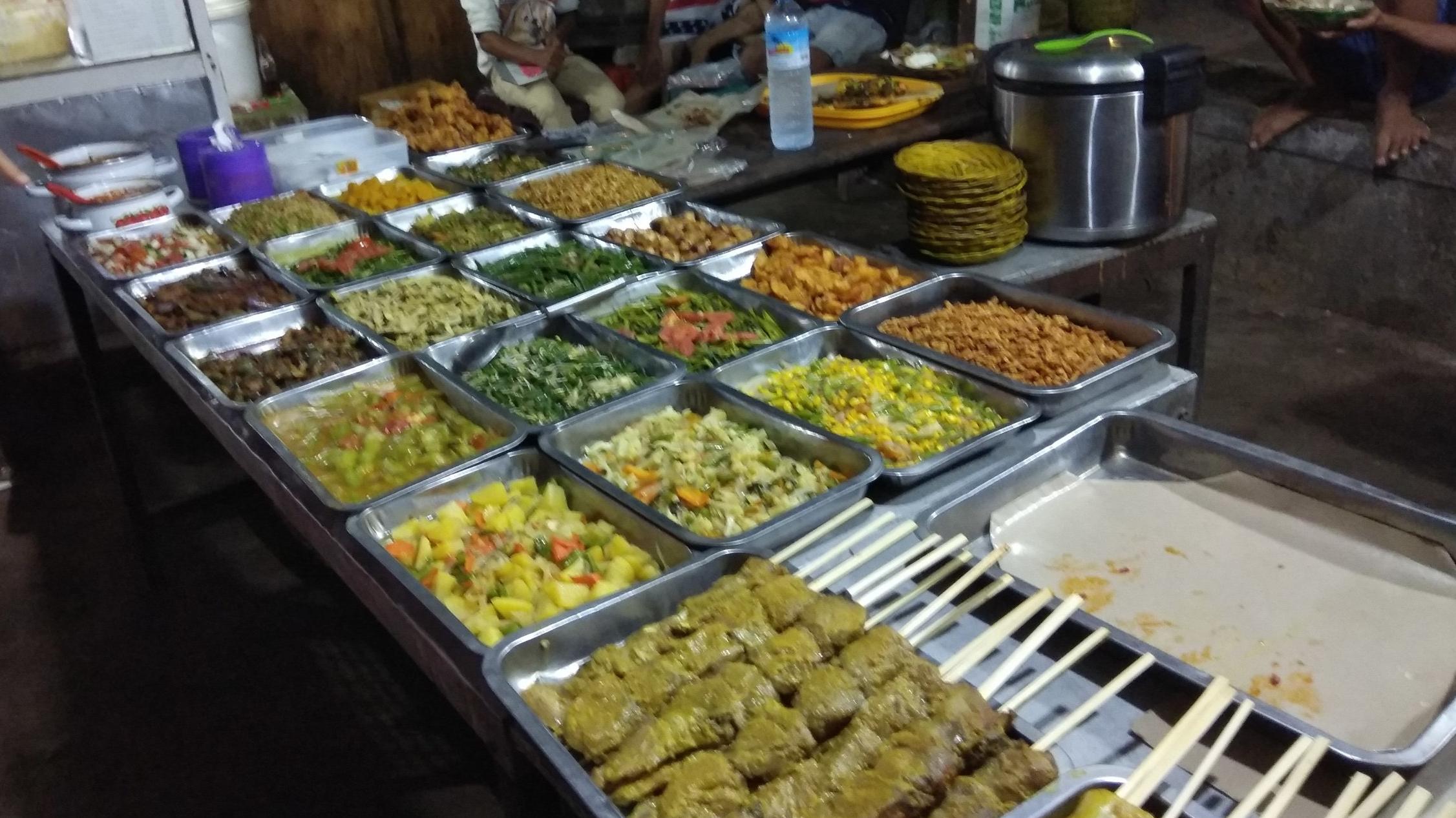 Gili Night Market Stall
