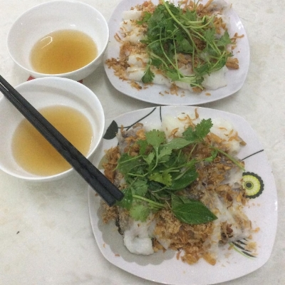 Vietnamese Rice Rolls Food Options