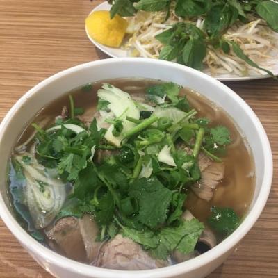 Vietnamese Pho Noodle Soup