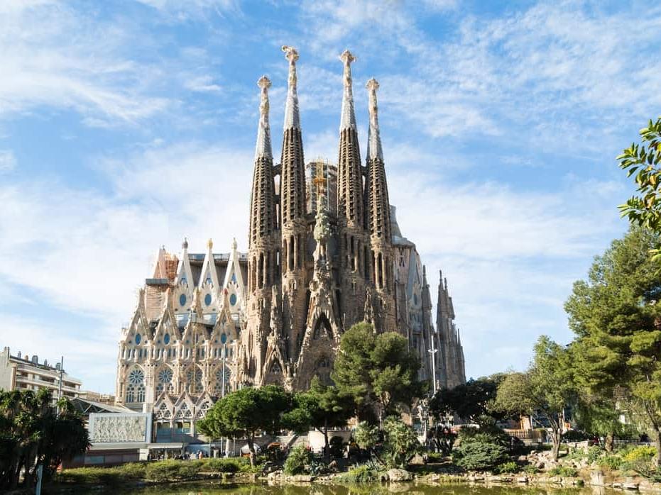 Sagrada Familia, Barcelona Group Trip