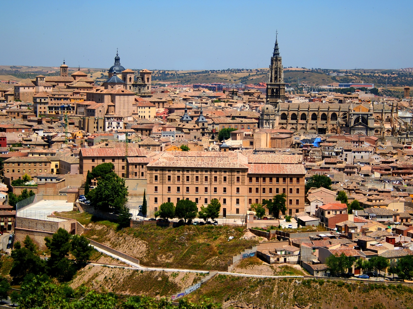 Toledo City, Spain. Party Trips from India