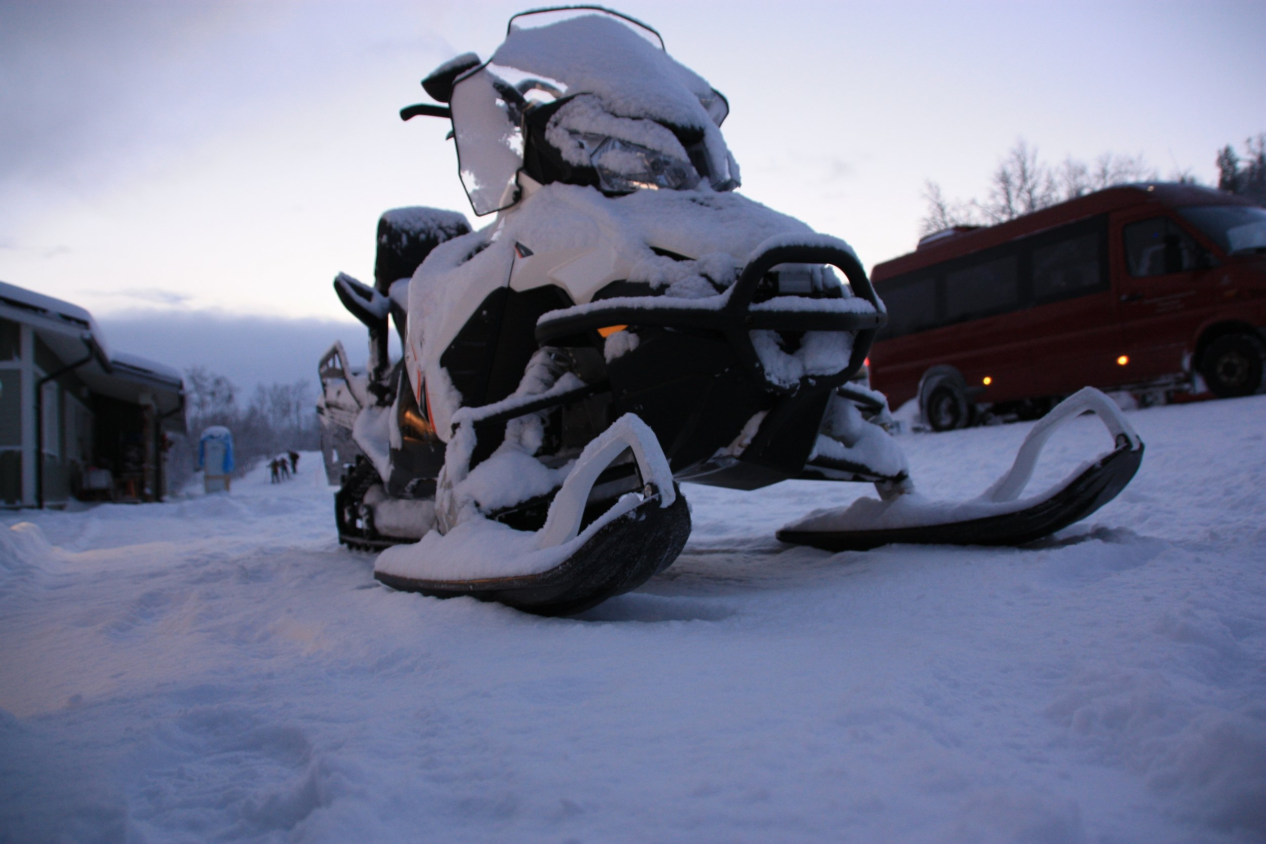 Cool ways to catch Northern Lights - Snowmobiling, Reindeer sled, etc.