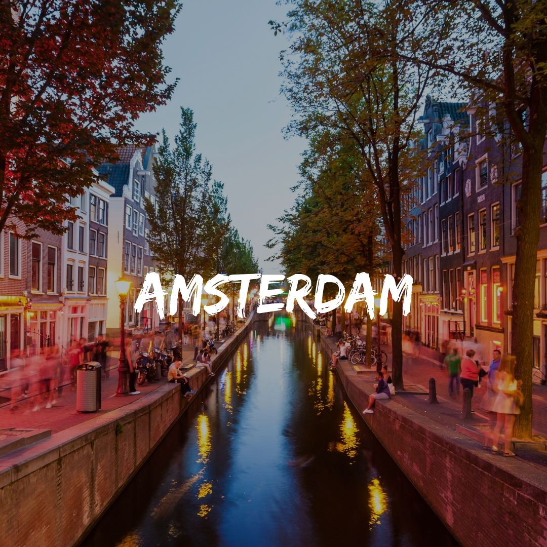 Visit Amsterdam with a Likeminded Group on a Solo Trip