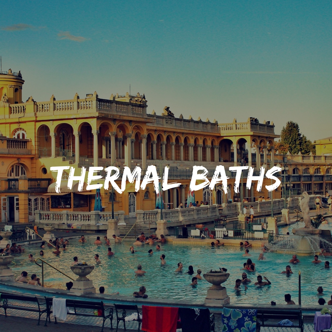 Visit Thermal Baths in Budapest and the Pubs