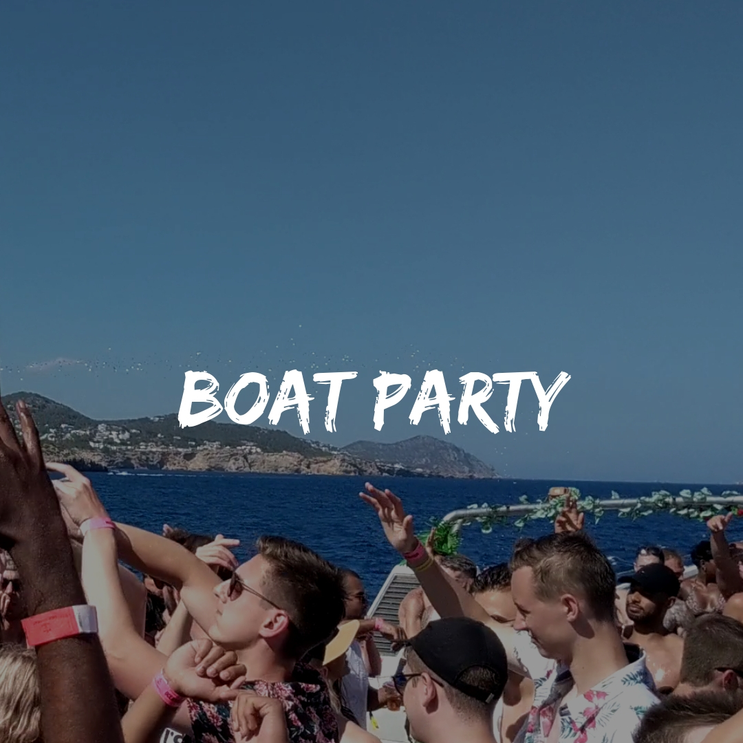 Boat Parties in Ibiza with a Backpack Trip to Europe