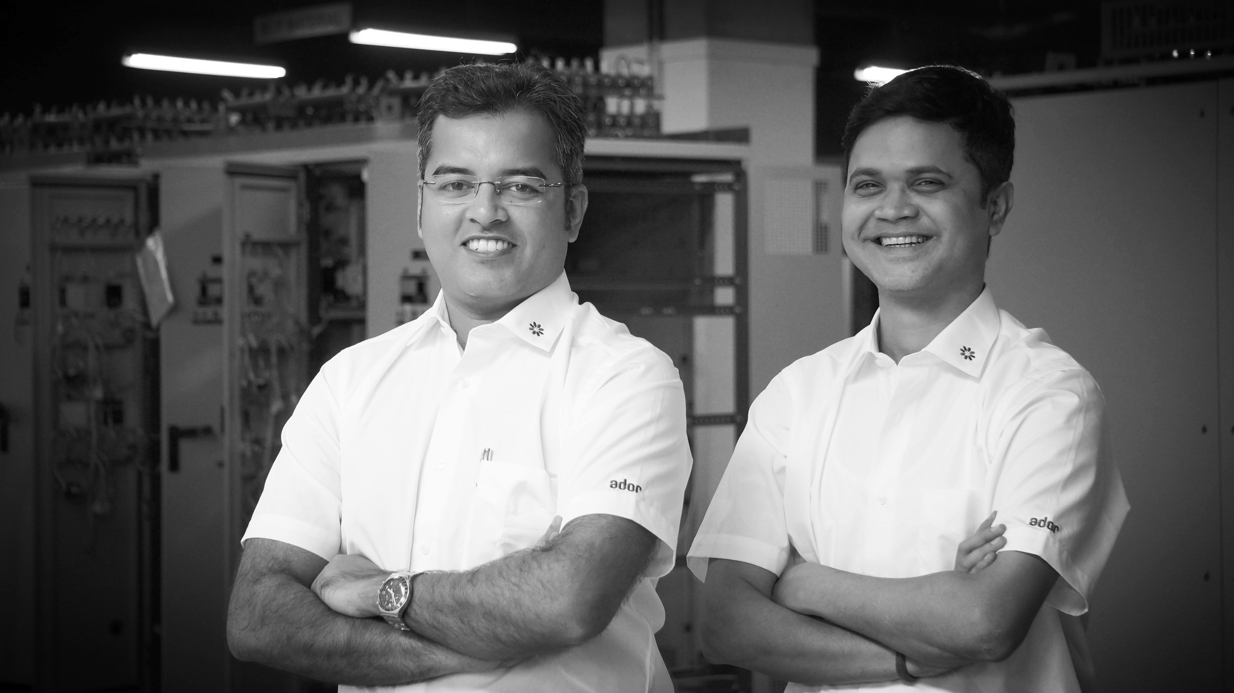 Anirban DHAR and Mriraj KUMAR - Young ADOR leaders who led our projects.