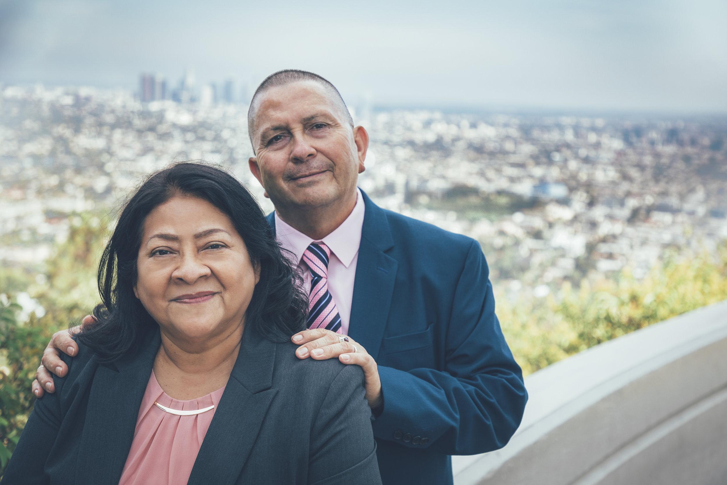 - Pastores:Adan y Elvira Barrera
