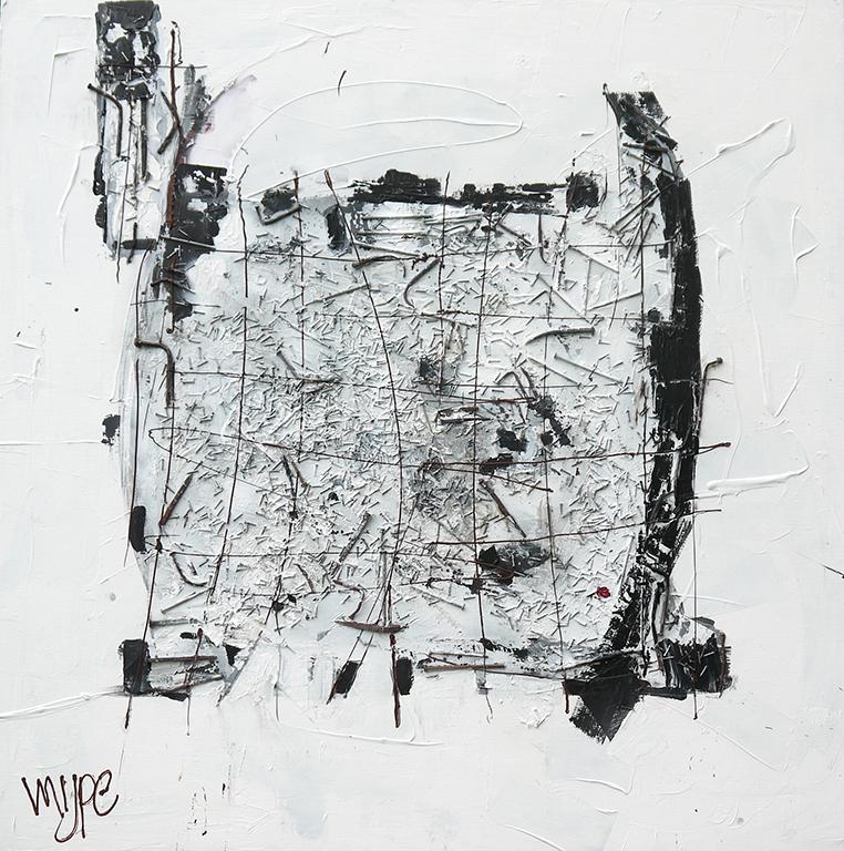 Recht & Onrecht 150x150 cm
