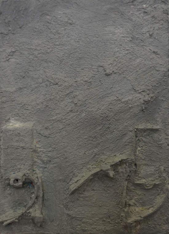 o.T.  20x15 cm  Oil and aerosol on wood