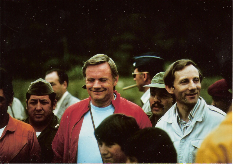 Stan Hall & Neil Armstrong - 1976 Expedition