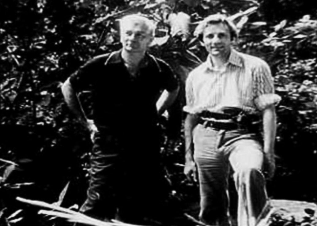 Stan Hall & Juan Moricz 1975