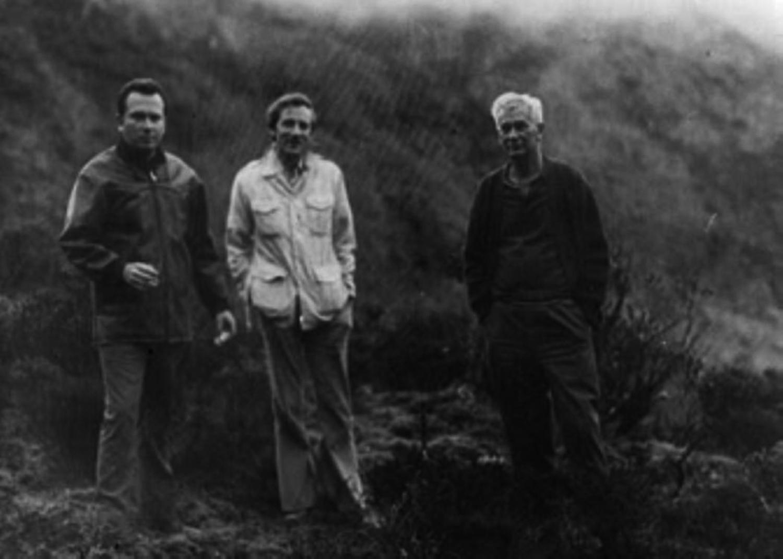 Gerardo Pena, Stan Hall & Juan Moricz 1975