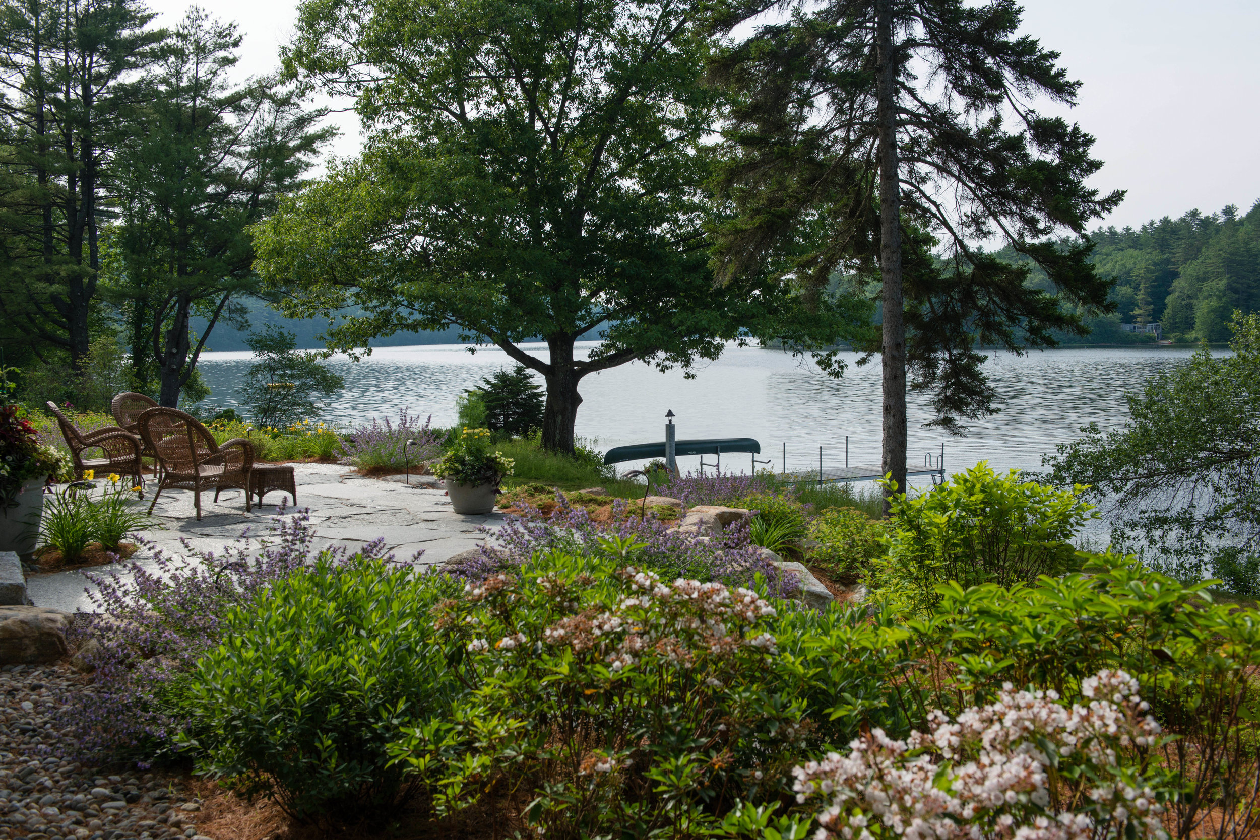 CLEARVIEW LAKE RETREAT -  WEBSTER, NH   LANDSCAPE