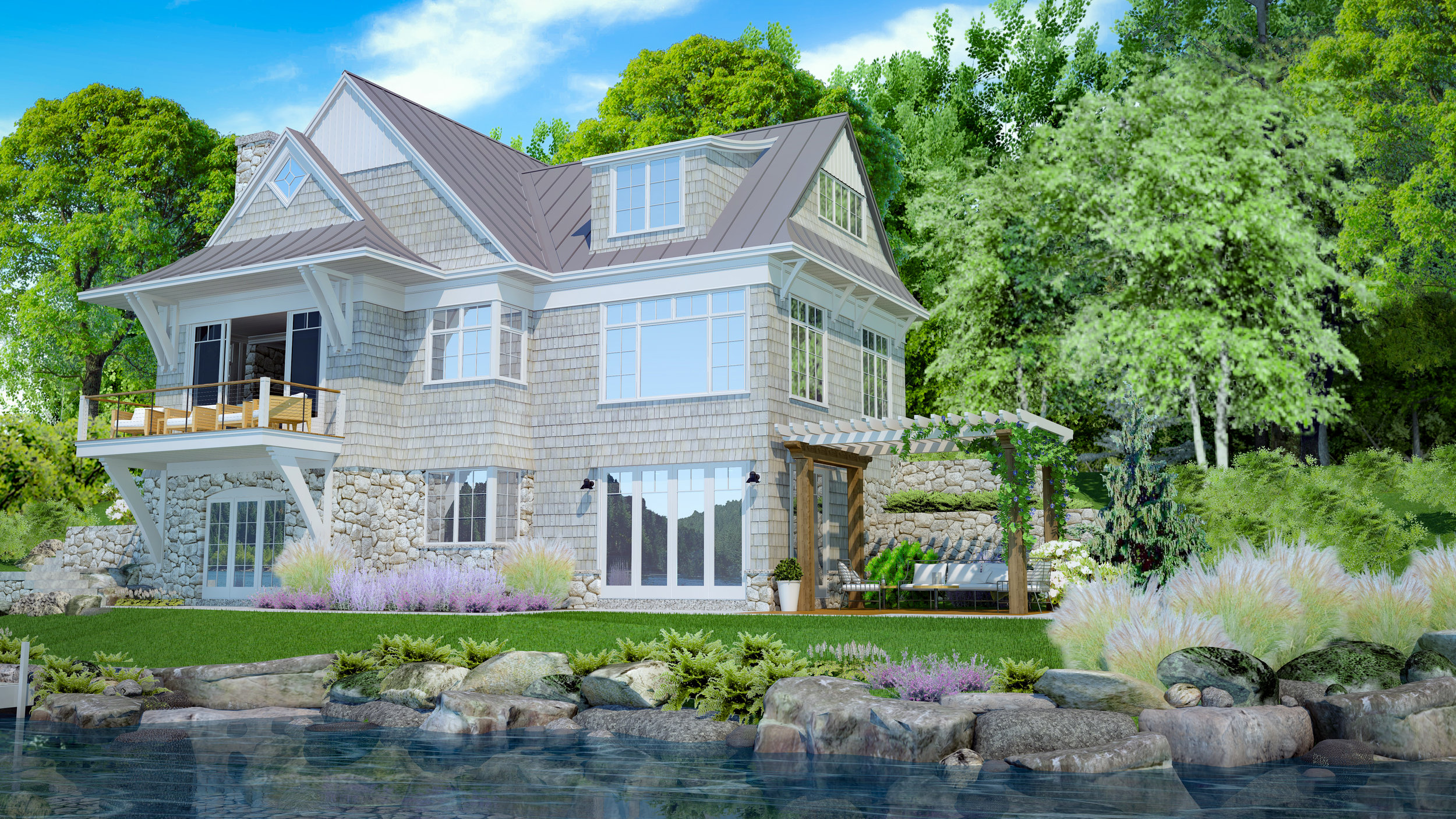 lake-side-winnipeaukee-architectural-rendering