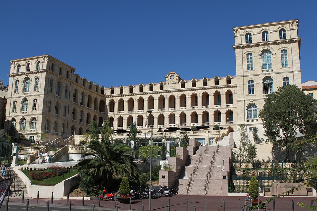 l'Hôtel Dieu Intercontinental à Marseille