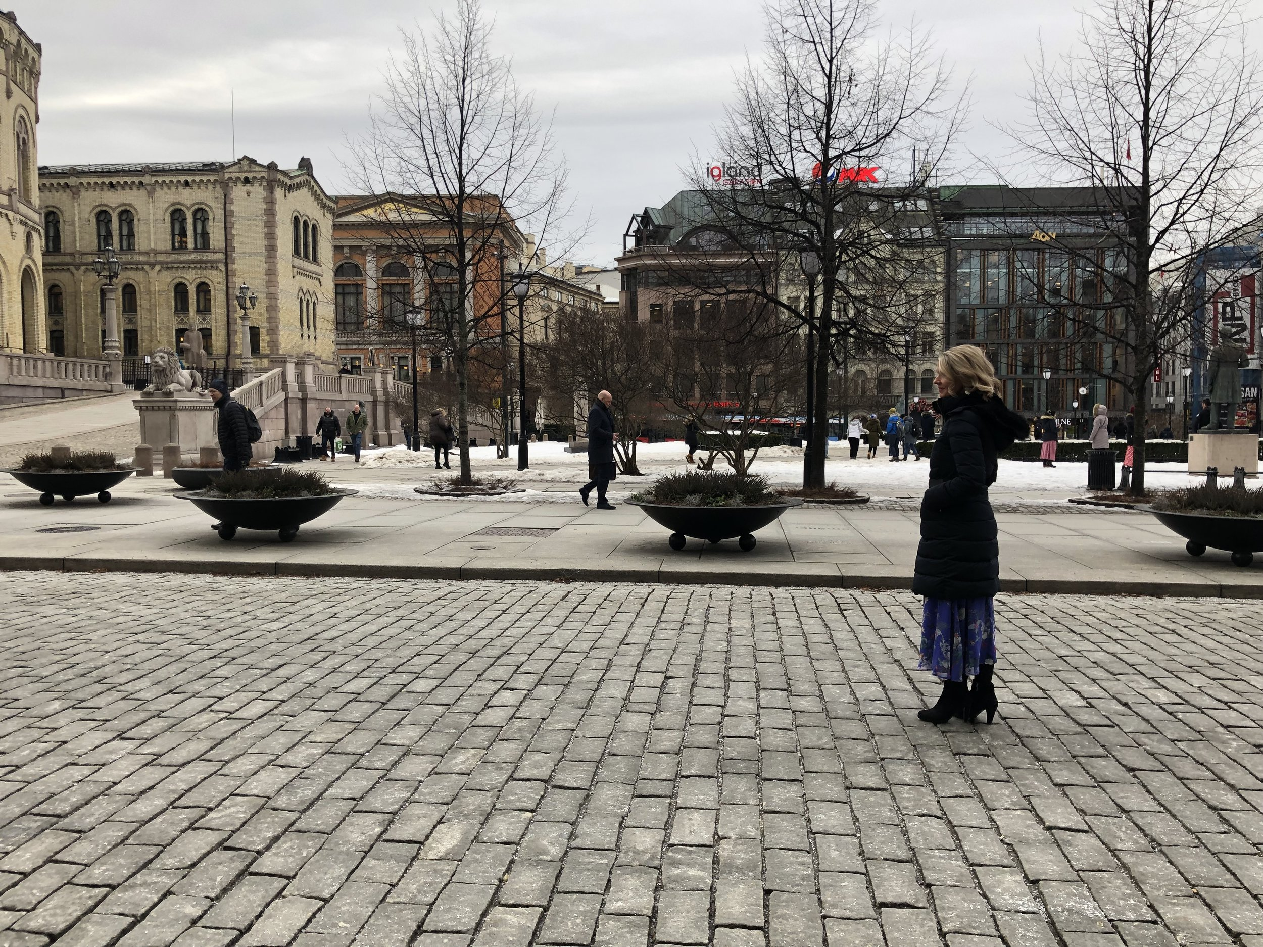 In Oslo centre