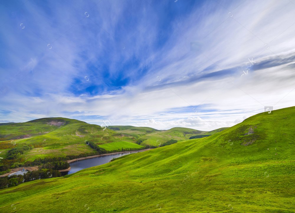 stock-photo-landscape-scenery-of-green-valley-hill-river-and-cloudy-blue-sky-pentland-hills-scotland-451457014.jpg