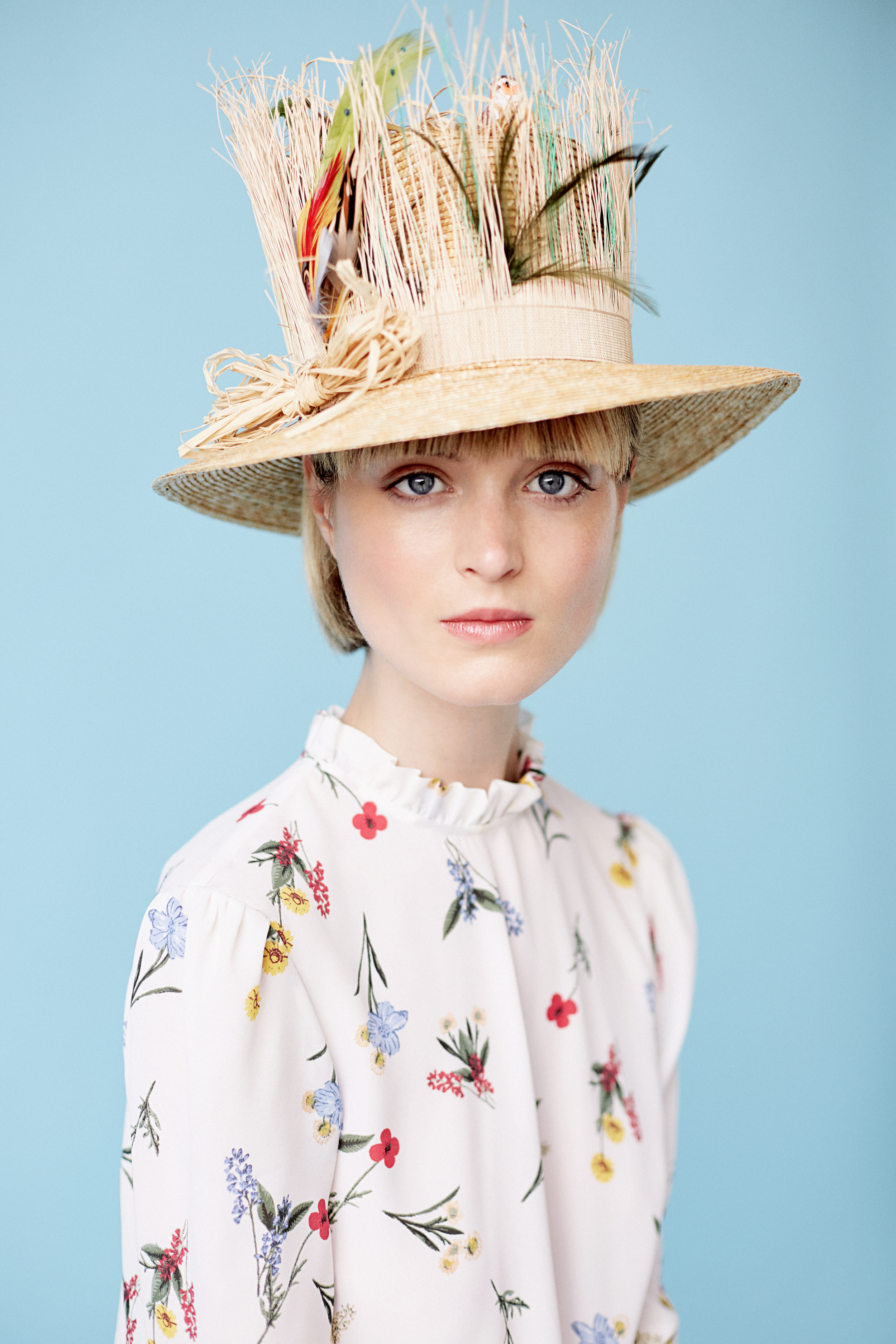 Milliner Anthony Peto look-book