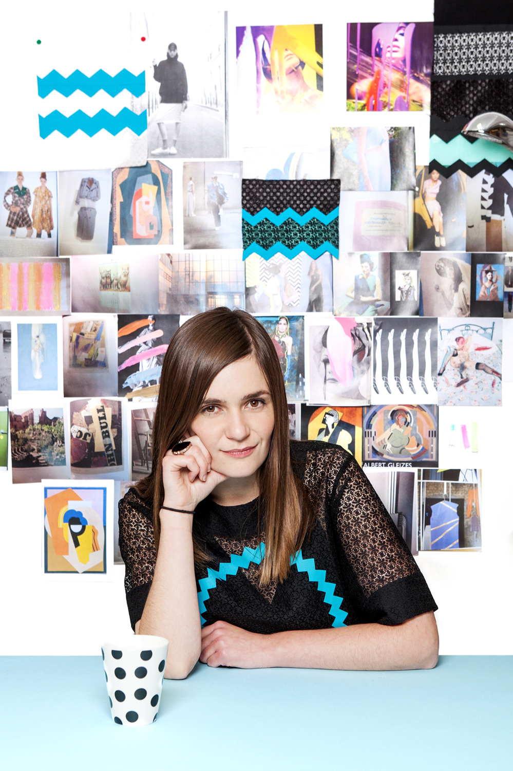Portrait of designer Danielle Romeril
