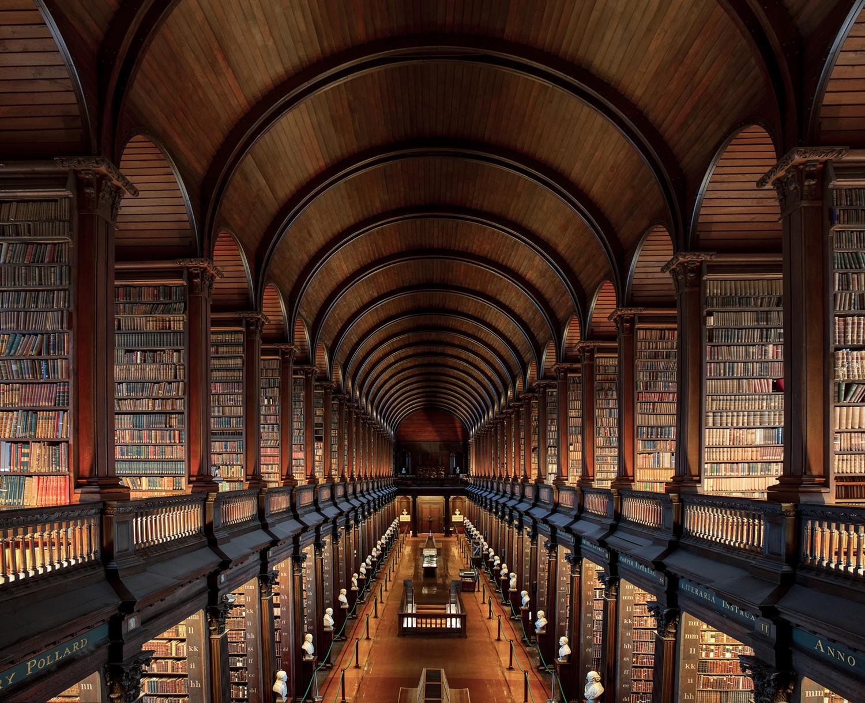 The Long Hall - Trinity College Dublin