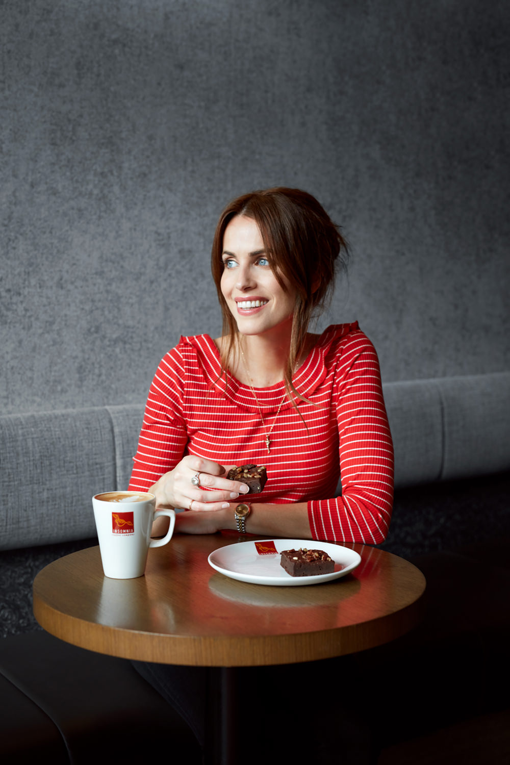 Holly White with Insomnia Coffee