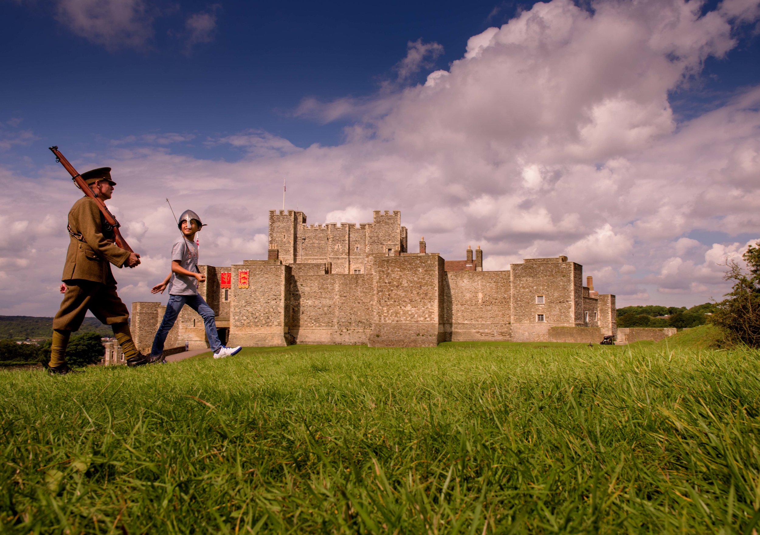 Dover Castle - Soldier and Kid.jpg