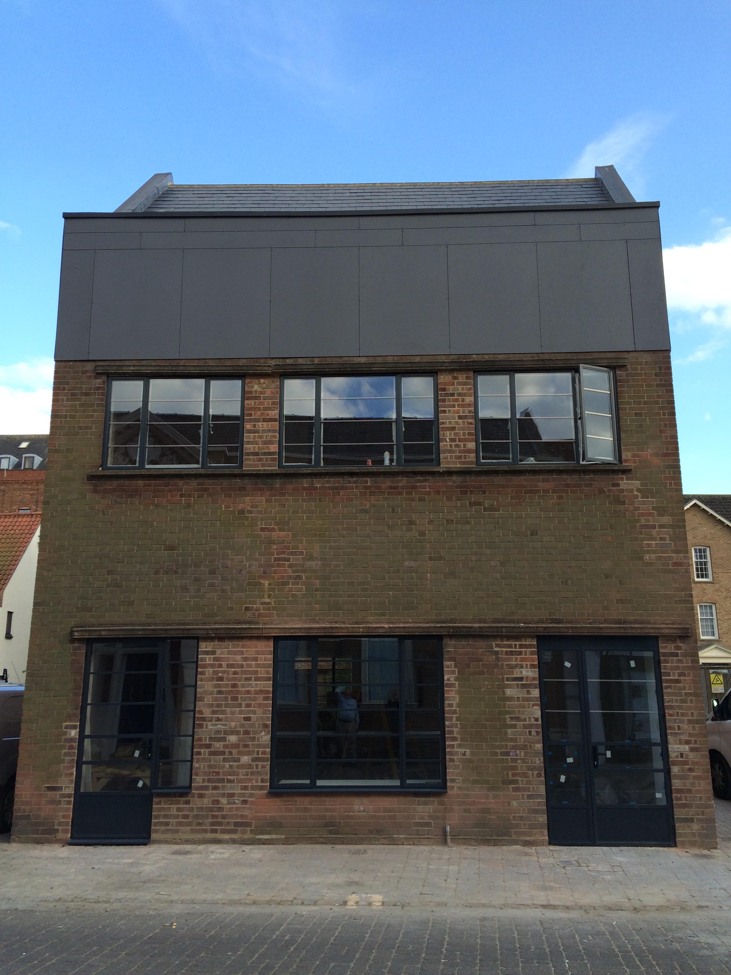 GroundWork gallery facade