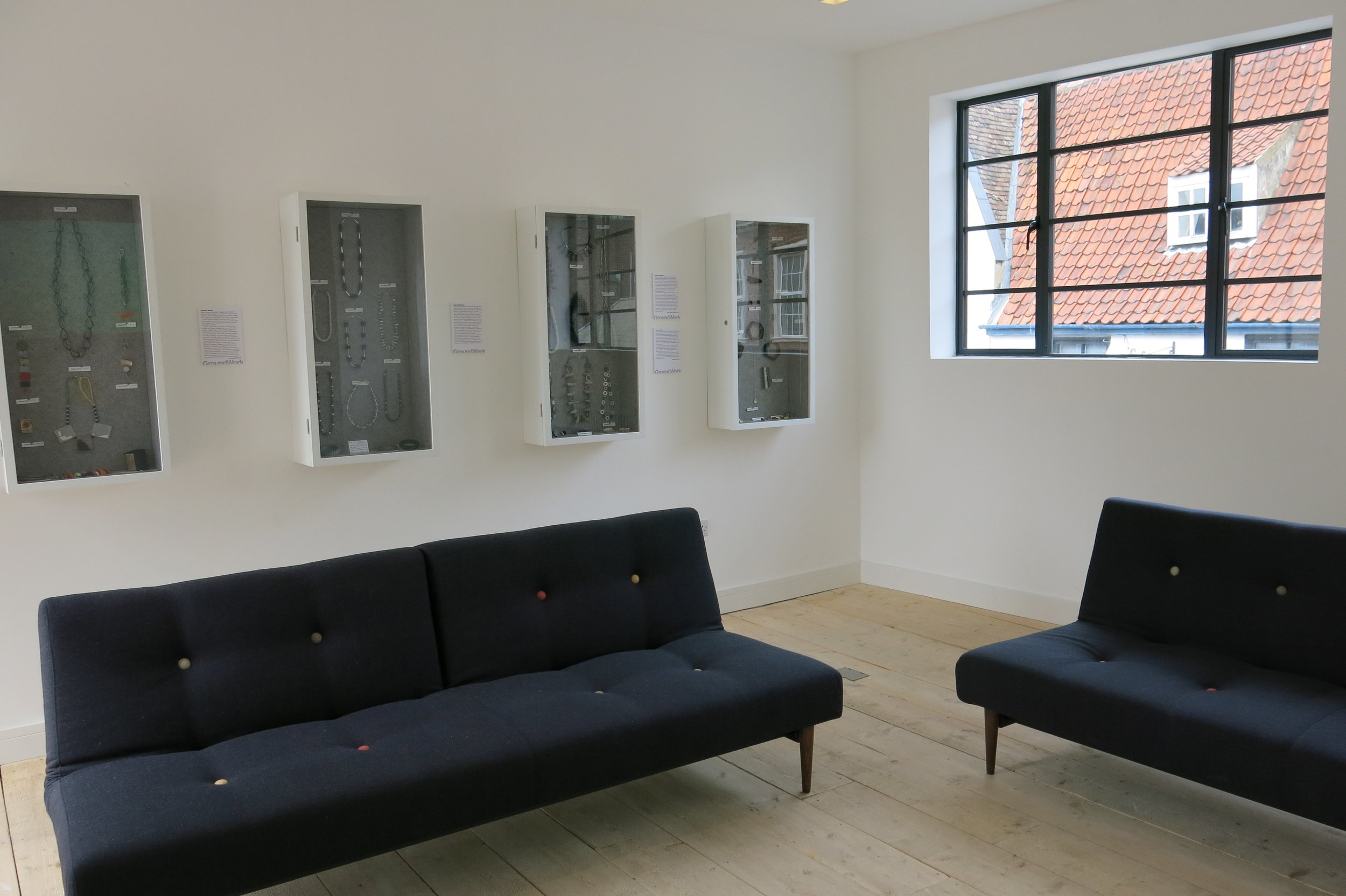 First Floor Living Room, GroundWork Gallery