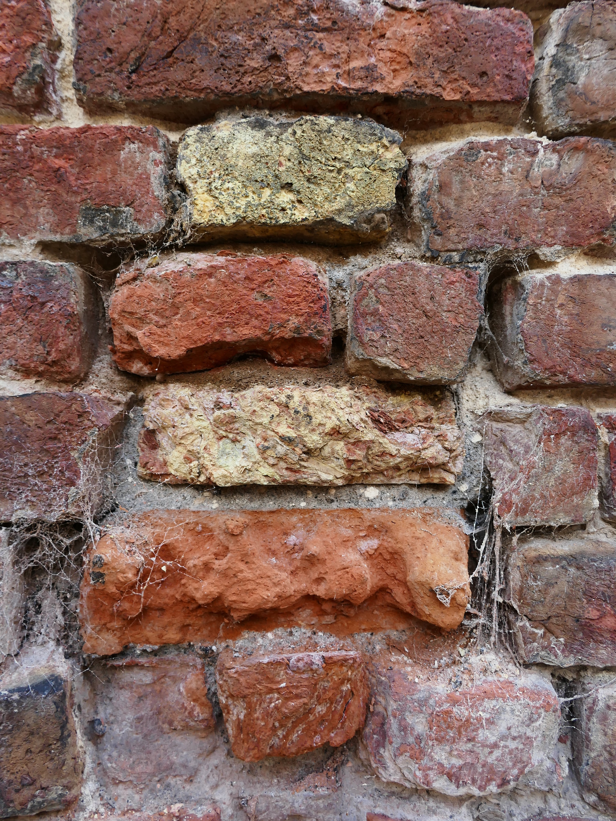 The temperature and length of time of firing, determine the durability and colour of the brick.