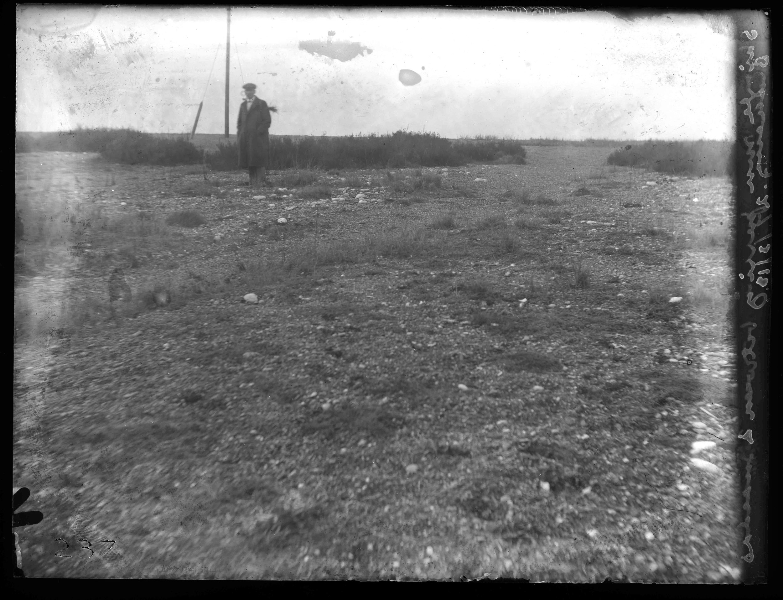 Sir Edward James Salisbury, Shingle Mobility between Suaeda bushes (on Blakeney Marshes), early 20th century.